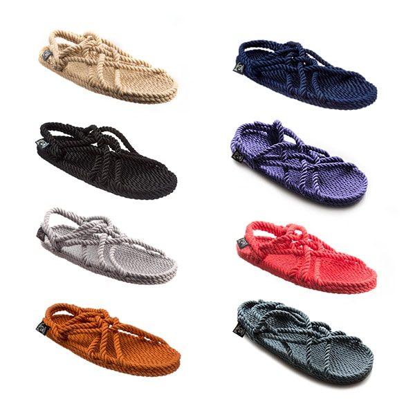 JC večbarvni sandali